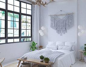 bedroom-milimal 3D Bedroom tropical