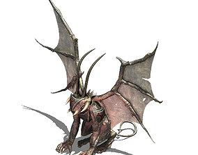 3D Magic sea abyss - devil statue