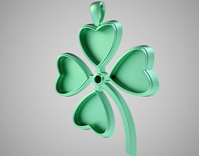 3D print model Clover Necklace
