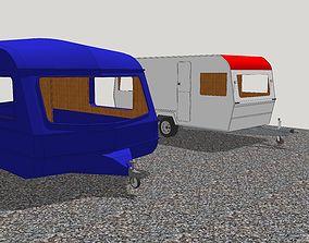 3D asset Caravan