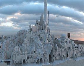 Persian Fortress City 3D