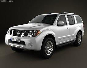 Nissan Pathfinder 2010 3D model