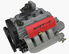 Chrysler EDV EDT Turbo engine 3D asset