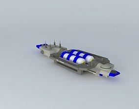 3D USC Genesis TC Colonizing space carrier