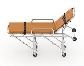 3D model Ambulance Emergency Medical Stretcher