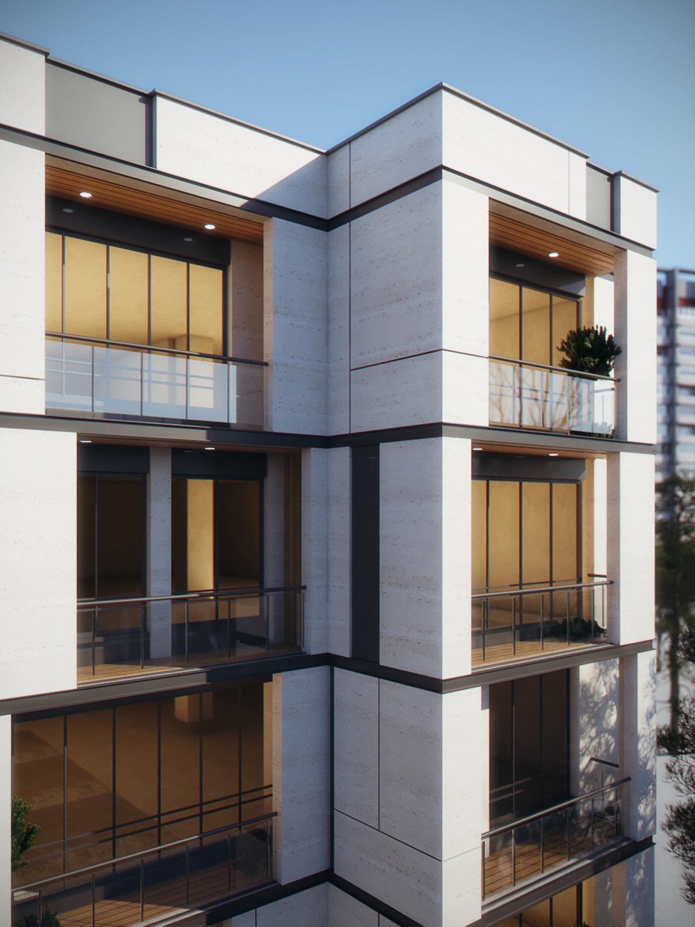 Mandana building elevation