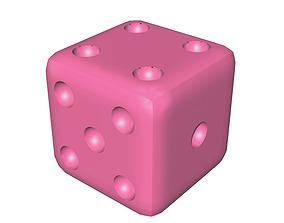 Standard Board Game Dice 3D printable model