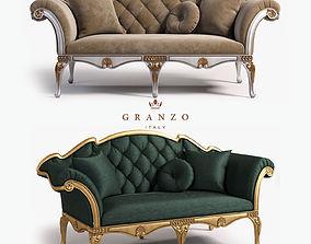 louis 3D Bijoux sofa