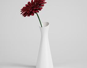 leaf CGAxis flower 3D