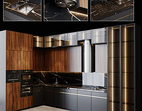 3D Kitchen Modern 15