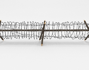 Barb Wire Obstacle 3D