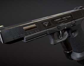 TTI Glock 17l Combat Master from John Wick 3D model