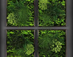 Vertical gardening 01 3D asset