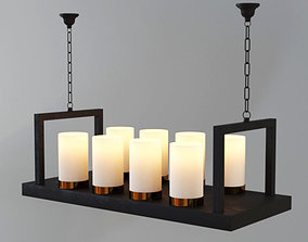 3D Ceiling Candle Lamps