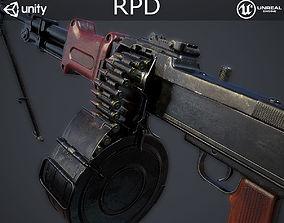 RPD Light Machine Gun 3D asset