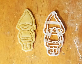 3D printable model Dwarf Cookie Cutter