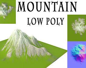 game Mountain 3D asset VR / AR ready