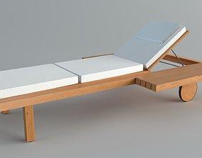 3D asset ChairsOutdoor Tribu Visa Vis Lounger