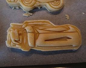 3D print model Jackson Storm from Disneys CARS 3 Cookie 1