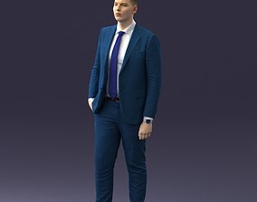man in suit 0305 3dprint ready 3dscan