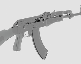 Ak47M1 Fully Detailed 3D model