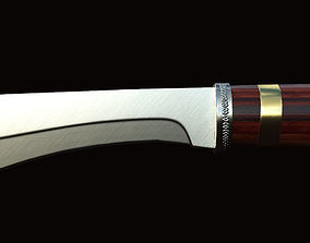 3D asset Knife Punisher
