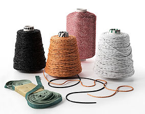 3D model Threads and Ribbon
