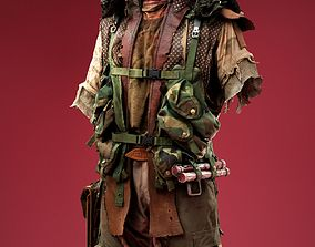 3D asset Army Soldier Cosplay Outfit