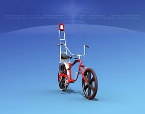 3D model Chopper Style Boys Bicycle 1970