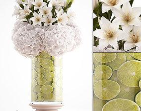 3D model Decorative bouquet of flowers