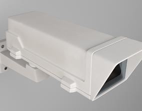 Axis P1365 surveillance camera 3D electronics