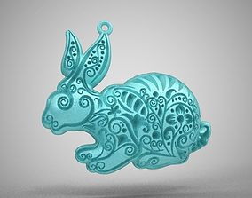 3D printable model Rabbit Necklace