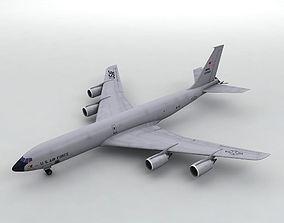 3D asset Douglas KC-135 Military Aircraft
