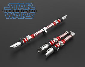 Dark Side Rey Lightsaber - 3D Files