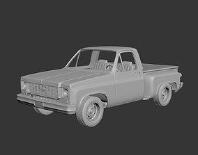 3D print model Chevrolet C10 1974