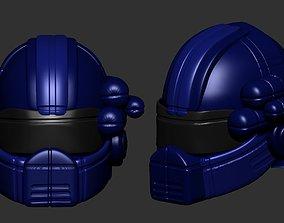 helmet high poly sculpt 3d printable ver