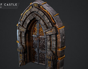 Door for Castle - Ready to Game 3D asset
