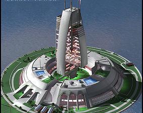 Berkey Tower 3D