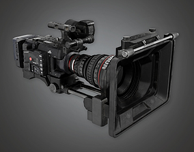 HD Production Camera - PBR Game Ready 3D asset