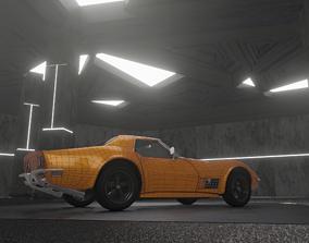 Chevrolet Corvette 1970 3D model