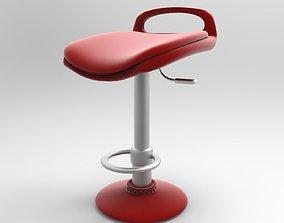 Bar Chair 3D asset