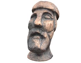 Odin head 3D model