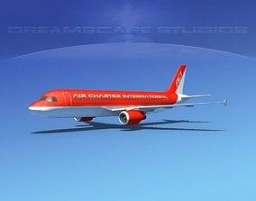 3D asset Airbus A320 LP Air Charter Intl 2