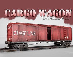Cargo Wagon 3D model