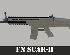 assault FN Scar-H 3D model
