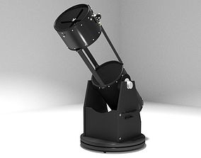 Modern Dobsonian Telescope other 3D