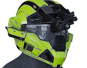 3D model Halo Helmet
