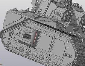 Solar Lord Vulcan tank 3D print model