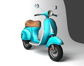 3D asset Vespa-Scooter