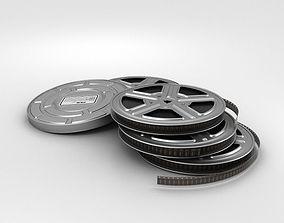 Video Film Reel 3D model